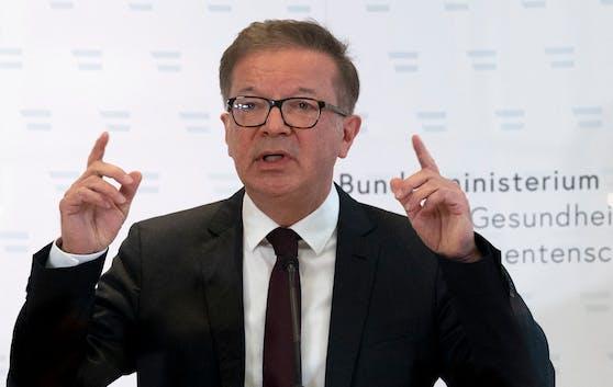 Rudolf Anschober gab hochemotional aus gesundheitlichen Gründen seinen Rücktritt bekannt.