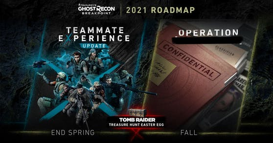 """""""Tom Clancy's Ghost Recon Breakpoint"""" enthüllt die Roadmap für 2021."""