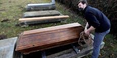 Seit heute in Europa über eine Million Corona-Tote