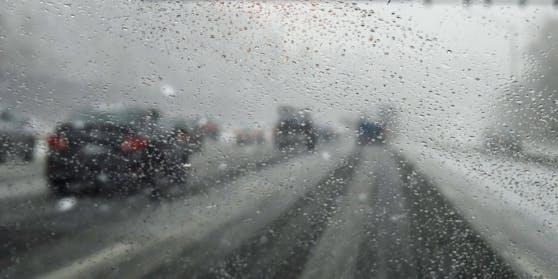 Besonders auf den Autobahnen ist Vorsicht geboten.