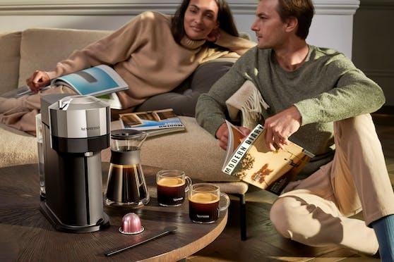 Mit VERTUO lanciert Nespresso nun ein einzigartiges Kaffeebrühsystem in Österreich.