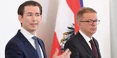 Auch Kanzler erfuhr von Rücktritt erst am Dienstag
