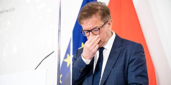 Rudolf Anschober tritt zurück.