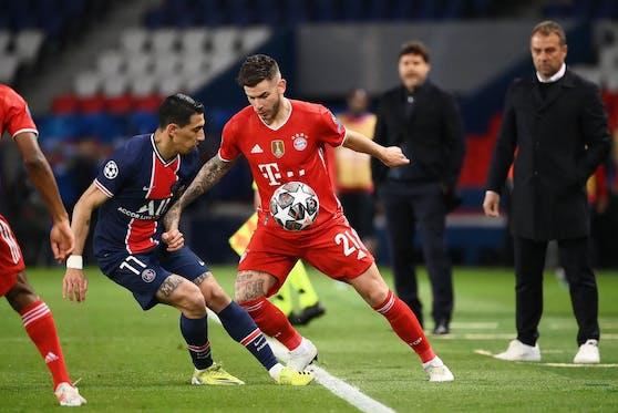 Die Bayern gegen Paris St.-Germain.