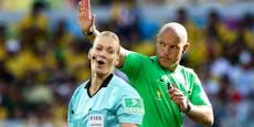 Promi-Schiedsrichter mussten ohne Trauzeugen heiraten