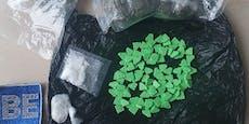 Polizei findet 102 Ecstasy-Tabletten bei 27-Jährigem