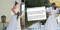 """""""Nie wollüstig"""": Braut rechnet in Inserat mit Ex ab"""