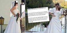 Wut-Brautrechnet in Online-Inserat mit Ex ab
