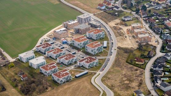 In der Auhirschgasse in Linz-Pichling entstehen weitere Wohnungen.