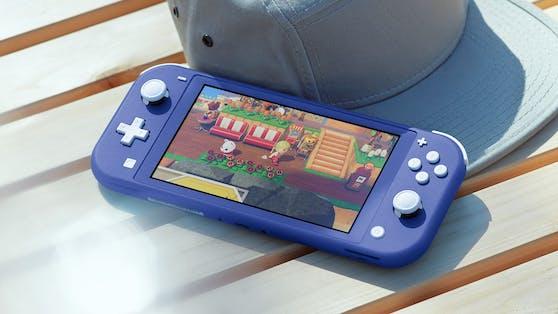 Die Nintendo Switch Lite in neuem Farbton.