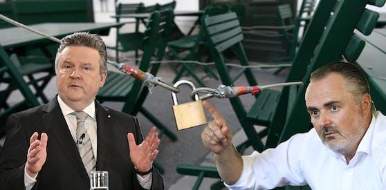 Während das Burgenland aufsperrt, bleiben Wien und NÖ im Lockdown.