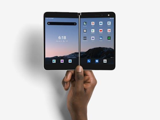 Surface Duo ab sofort auch in Österreich für Unternehmenskunden verfügbar.