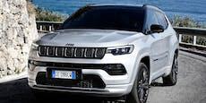 Jeep frischt den Compass für das neue Modelljahr auf