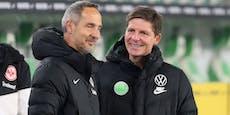 Wird ÖFB-Coach der Hütter-Nachfolger in Frankfurt?