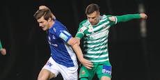 Blau Weiß Linz nach 5:2-Sieg über Jung-Rapidler Erster