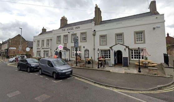 Das Angel Inn in Corbridge: Hier lief David Walters mit seiner Bestellung auf.