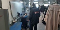 Polizei-Razzia in türkischer Textilkette in Wien