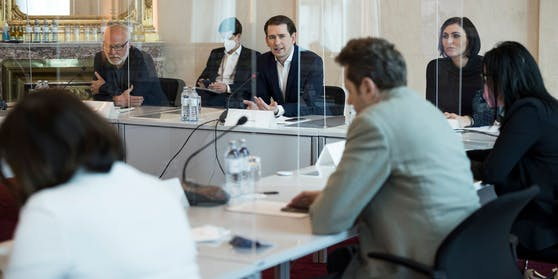 Die Öffnungskommission tagte am Donnerstag im Kanzleramt.