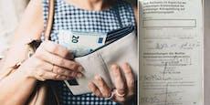 Frau bekommt kein Kindergeld, muss mit 172 € auskommen