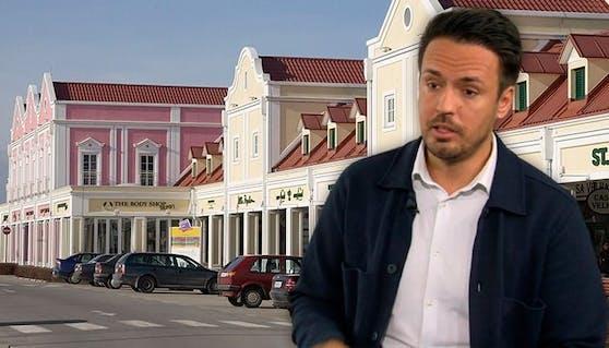 Top-Jurist Philipp Brokes klärte über Shopping-Ausflüge nach Parndorf auf.