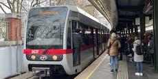 U6-Betriebsstörung sorgt für vollen Bahnsteig in Wien