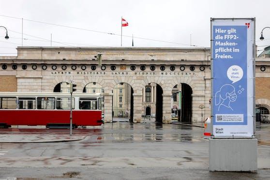 """Wien bleibt weiter im Lockdown. """"Bringt nicht viel"""", sagt ein Experte."""