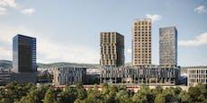 Nestlé-Gründe: Drei Wolkenkratzer für Linz