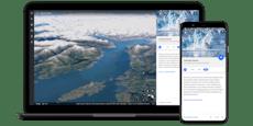 Größtes Update von Google Earth macht Zeit sichtbar