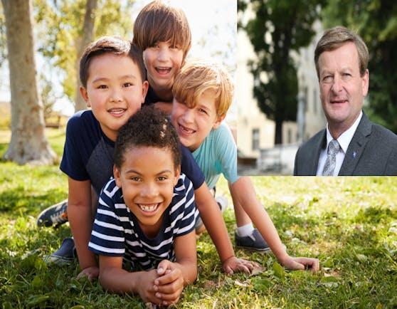 Landesrat Gottfried Waldhäusl setzt sich für den Kinderzuschuss ein.