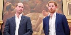 Prinz William und Harry sitzen bei Beerdigung getrennt