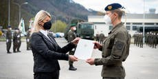 Erste Frau wird Regiments-Kommandantin beim Bundesheer