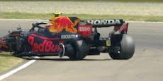 Perez und Ocon crashen, Mercedes stellt Bestzeit auf