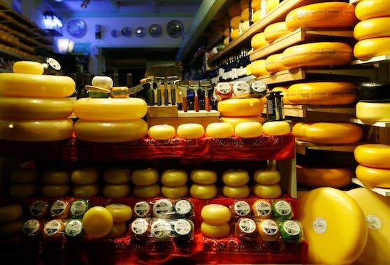So sieht es eigentlich in niederländischen Käse-Läden aus.