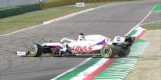 """""""Maze-Spin"""": Haas-Pilot hat sich schon wieder gedreht"""