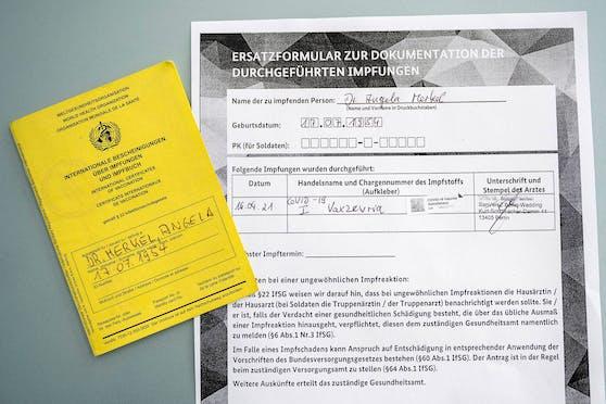 Am Freitag (16.04.2021) wurde die deutsche Bundeskanzlerin Angela Merkel (CDU) gegen das Coronavirus geimpft.