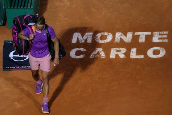 Rafael Nadal ist in Monte Carlo gescheitert.