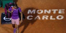 """Auch Sandplatz-""""König"""" Nadal in Monte Carlo draußen"""