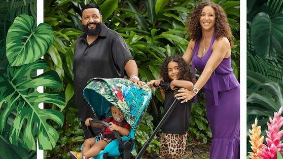 Für DJ Khaled steht die Familie an erster Stelle und dazu gehört auch entsprechend stylische, sichere und funktionale Kinder-Accessoires.