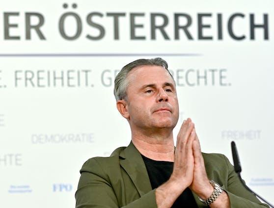 FPÖ-Chef Norbert Hofer: Laut einem FPÖ-Insider hat er kaum mehr Rückhalt in der Partei.