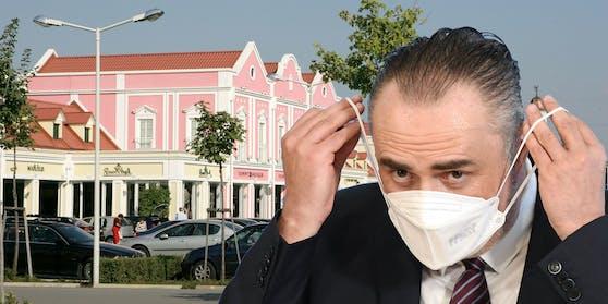 Hans Peter Doskozil erlässt eine Maskenpflicht in Parndorf.