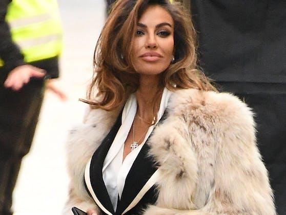 """Hier werden die Pelze ausgepackt! Madalina Ghenea als Sofia Loren in """"House of Gucci""""."""