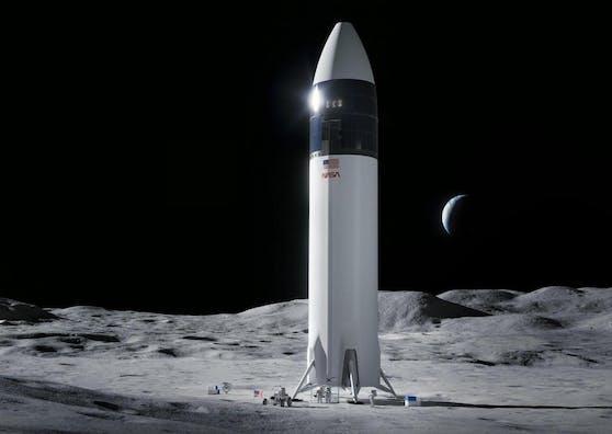 Mit SpaceX soll die erste Frau auf den Mond.