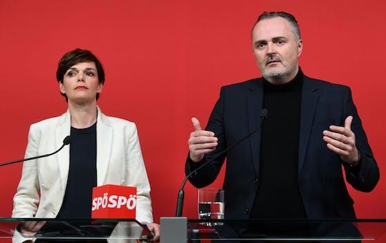 Pamela Rendi-Wagner kritisierte Landeshauptmann Hans Peter Doskozil scharf.
