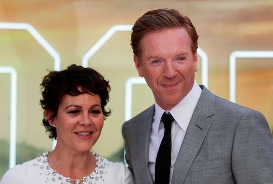 Damian Lewis und seine Frau Helen McCrory.