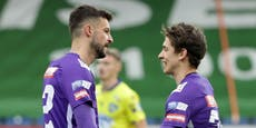2:1! Elfer bringt Austria wichtigen Sieg in St. Pölten