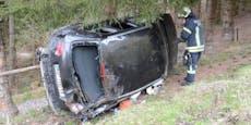 Auto überschlagen – Rätselraten um Fahrerin