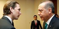 """Türkei als EU-Mitglied? Kanzler Kurz sagt """"Nein!"""""""