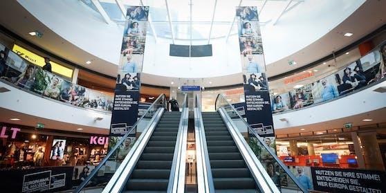 Blick in die Shopping-Mall bei der Felberstraße in Wien. (Archivfoto)