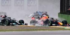 Verstappen siegt in Imola, Hamilton rettet Platz zwei