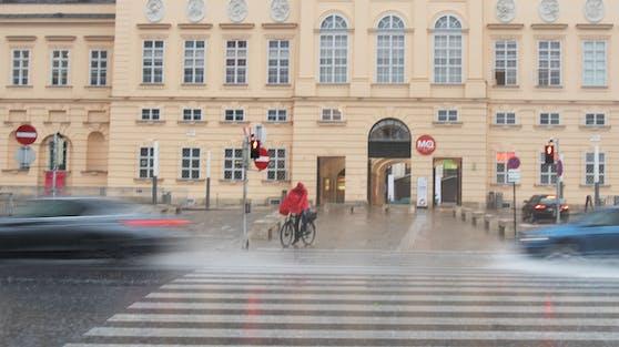 Bis nach Wien kommt viel Niederschlag.
